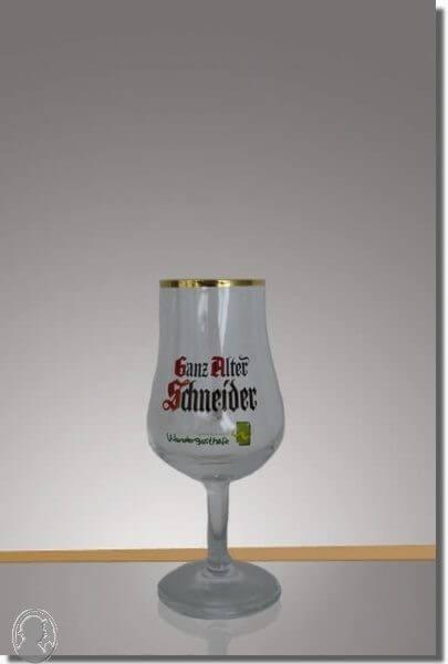 Ganz Alter Schneider Glas 2 + 4 cl