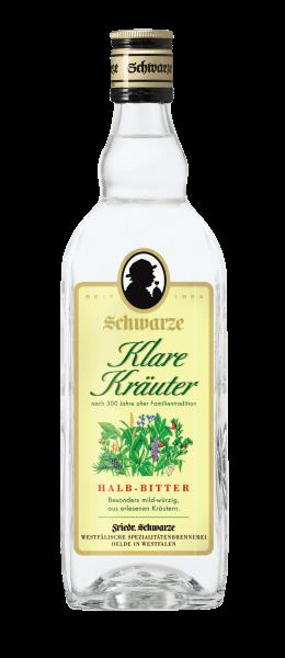 Produktabbildung Schwarze Klare Kräuter 0,7L 32% vol.