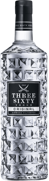 Three Sixty Vodka 3,0L 37,5% vol.