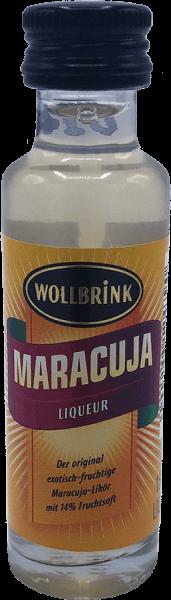 Wollbrink Maracuja-Likör mit Wodka 15% 0,02 L