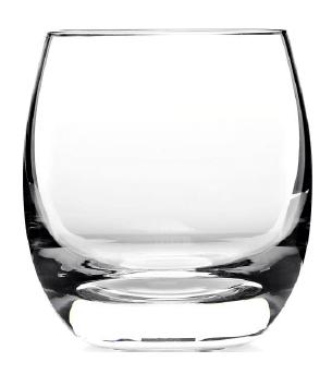 Barceló Tumbler Glas mit Bodendekor