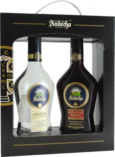 Geschenkverpackung mit 2 wählbaren Flaschen Kloster Andechs 0,5L