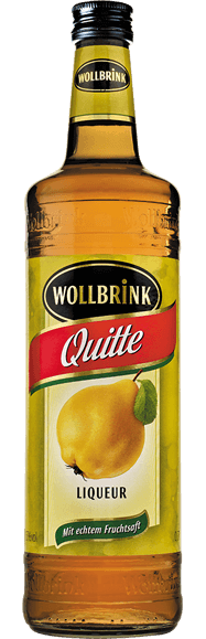 Wollbrink Quitte mit Wodka 15% 0,7 L