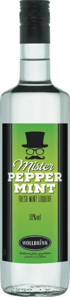 Mister Peppermint Pfefferminz-Likör 30% 0,7 L