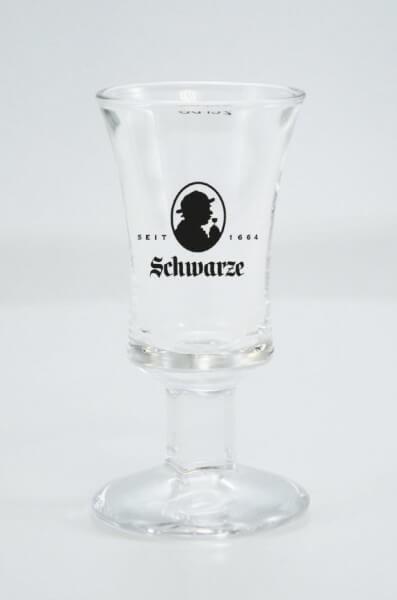 Schwarze Rittmeister Glas 2cl