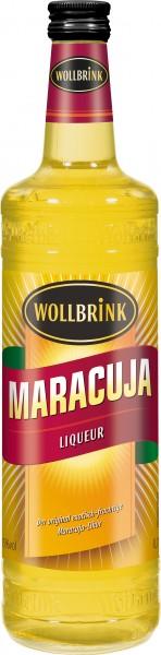 Wollbrink Maracuja-Likör mit Wodka 15% 0,7 L