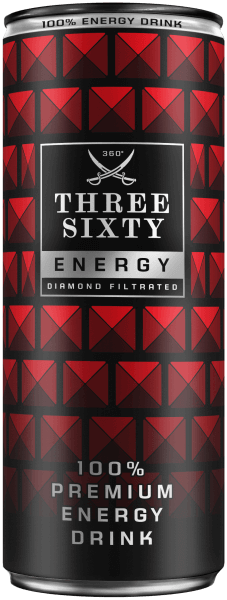 THREE SIXTY Premium Energy Drink 250ml