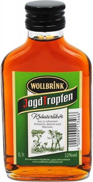 Wollbrink Jagdtropfen 32% 0,1 L