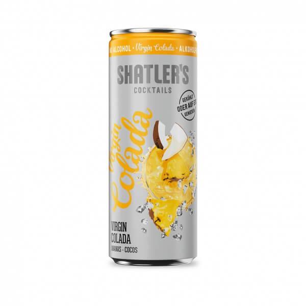Shatlers Virgin Colada 250ml - alkoholfrei