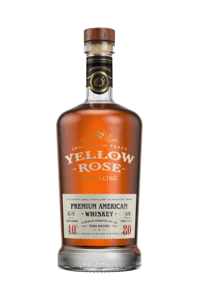 Yellow Rose Premium American Whiskey 40%vol. 0,7L