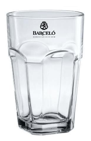 Barceló Longdrinkglas 40cl (San Marco Becher)