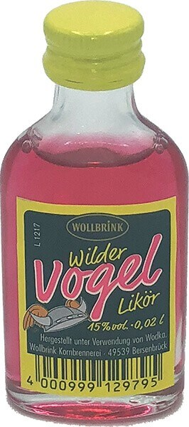 Wollbrink Wilder Vogel 15% 0,02 L
