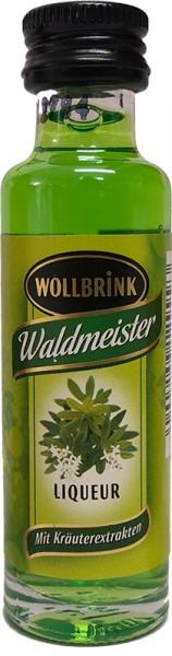 Wollbrink Waldmeister mit Wodka 15% 0,02 L