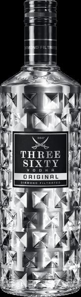 Three Sixty Vodka 0,7L 37,5% vol.