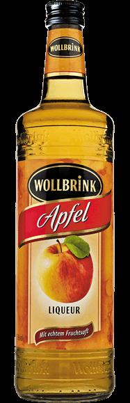 Wollbrink Apfel mit Wodka 15% 0,7 L