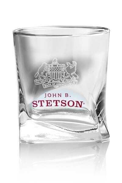 John B. Stetson Whiskey Tumbler 4cl