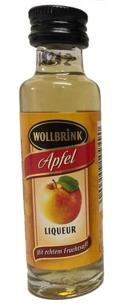 Wollbrink Apfel mit Wodka 15% 0,02 L