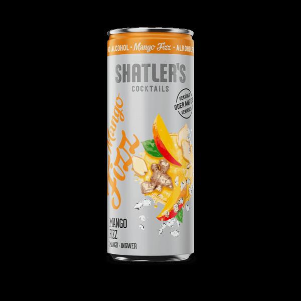 Shatlers Mango Fizz 250ml - alkoholfrei
