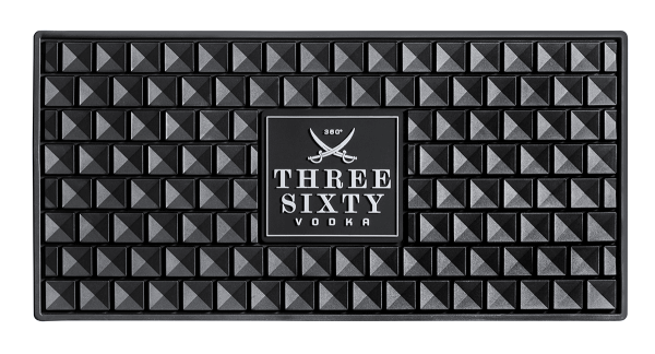 Three Sixty Vodka Barmatte