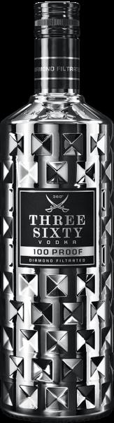 Three Sixty Vodka 100 Proof 0,7L 50% vol.