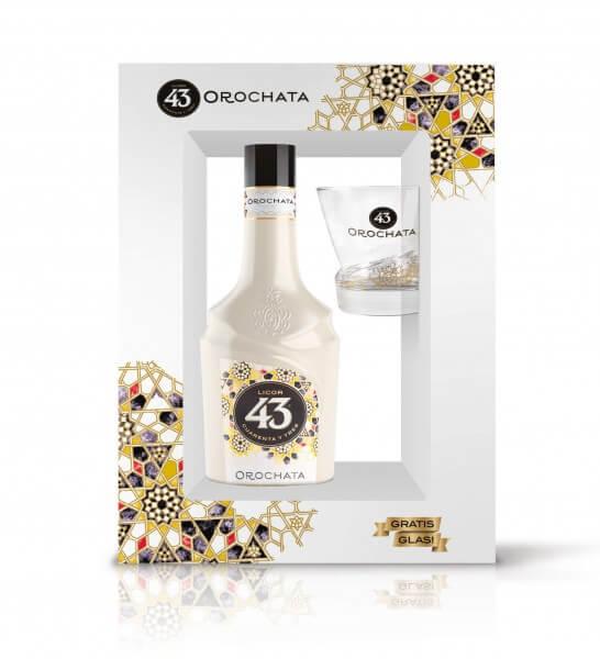 Licor 43 Orochata 16%vol. 0,7L OnPack mit gratis Glas