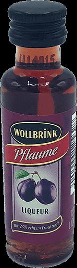 Wollbrink Pflaume mit Wodka 15% 0,02 L