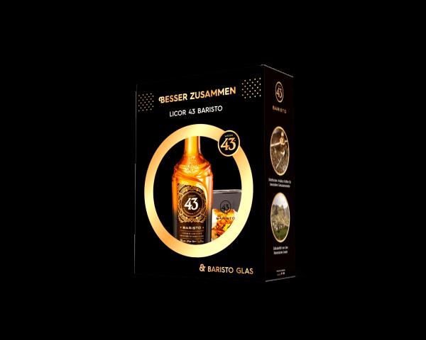 Licor 43 Baristo 31%vol. 0,7L inkl. Baristo Glas