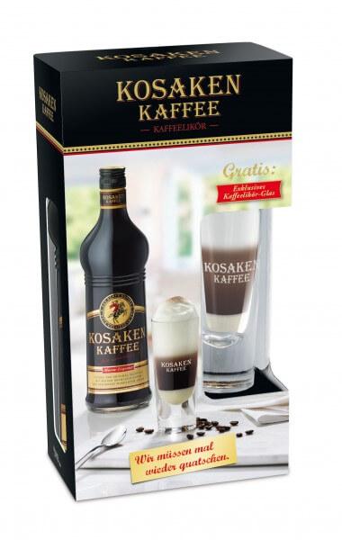 Kosaken Kaffee 0,7L 26% mit gratis Glas