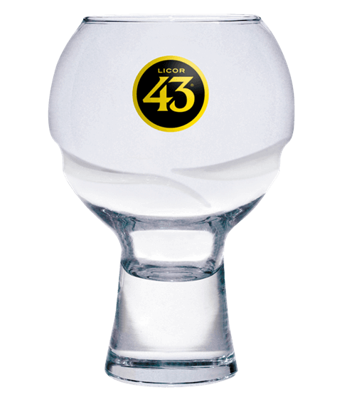 Licor 43 Original Ballonglas 30cl -neues Logo