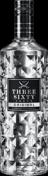 Three Sixty Vodka 1,0L 37,5% vol.