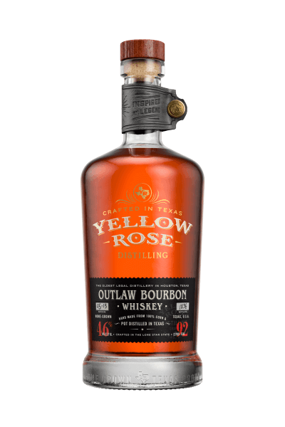 Yellow Rose Outlaw Bourbon Whiskey 46%vol. 0,7L