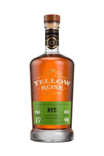 Yellow Rose Rye Spirituose 45%vol. 0,7L